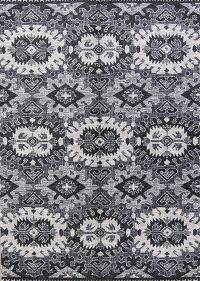 Outdoot/Indoor Geometric Machine Made Belgium Oriental Area Rug 5x7