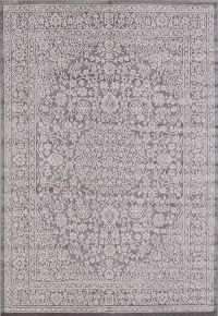 Outdoor/Indoor Floral Belgium Oriental Area Rug 5x7