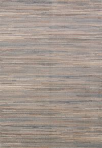 Stripe Machine Made Belgium Oriental Area Rug Multi-Colored