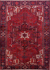 Heriz Persian Area Rug 8x12