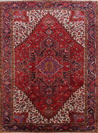 Heriz Persian Area Rug 9x13