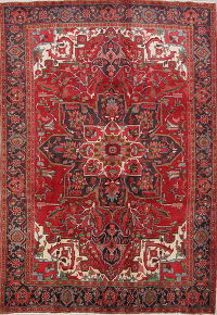 Heriz Persian Area Rug 7x10