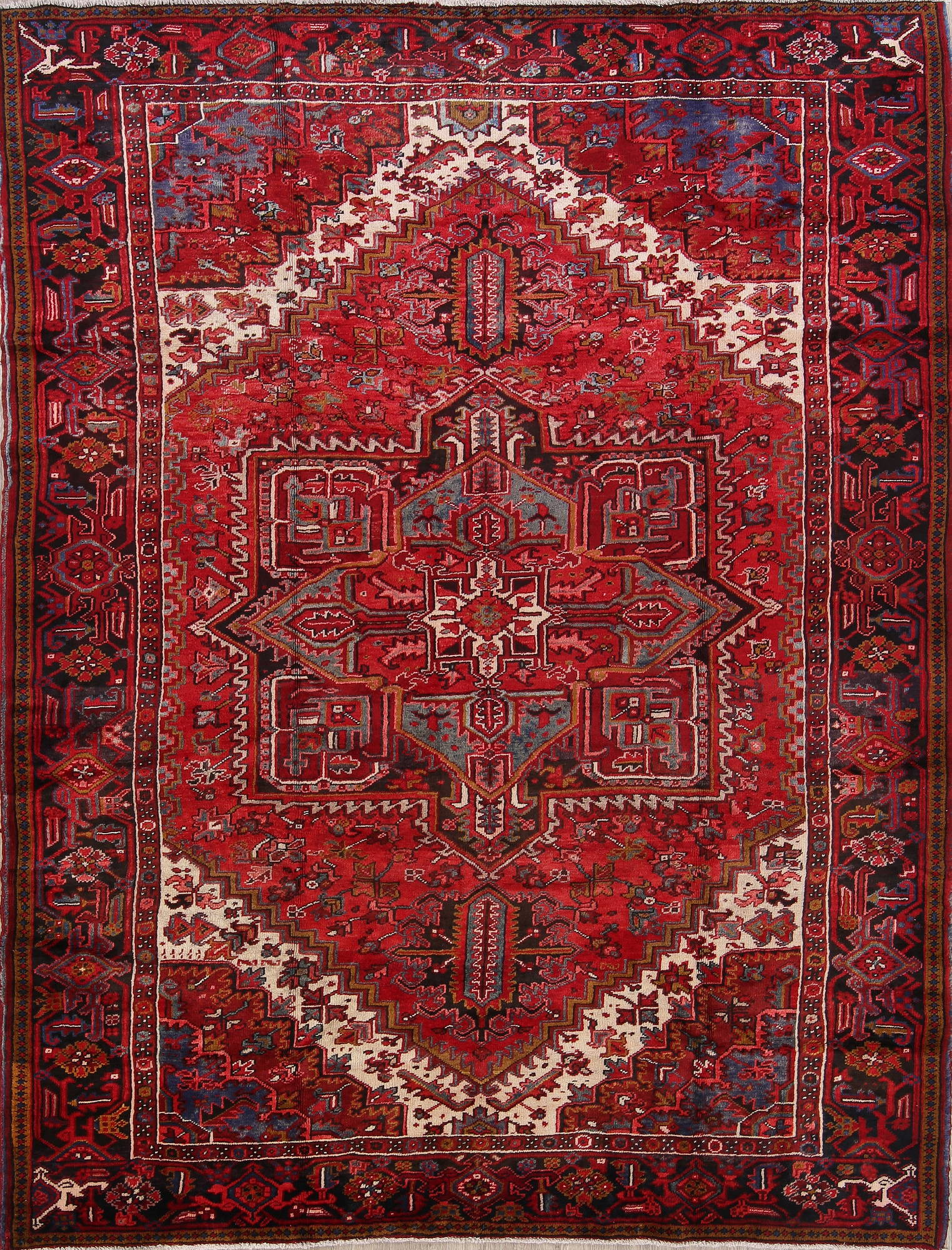 Heriz Persian Area Rug 8x11