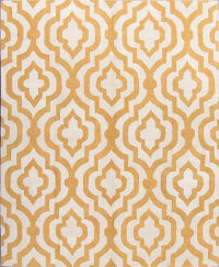 Hand Tufted Modern Moroccan Trellis Oriental Area Rug 8x10