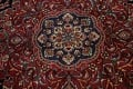 Large Floral Mashad Persian Area Rug 11x15 image 13