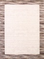 Contemporary Reproduction Modern Turkish Oriental Ivory/Brown Area Rug image 1