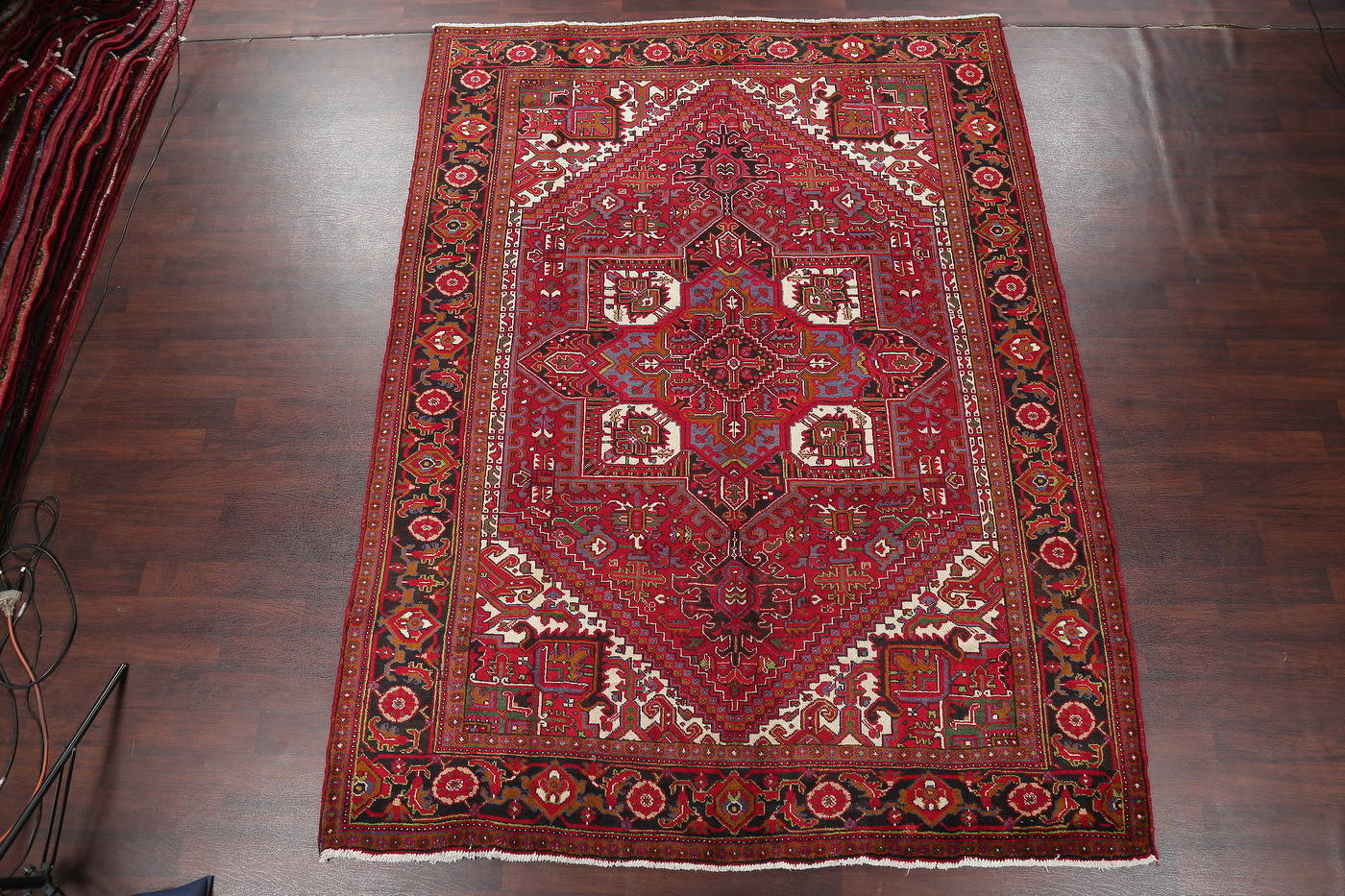 Geometric Heriz Persian Area Rug 8x11