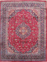 Red Floral Traditional Kashmar Persian Area Rug 10x13