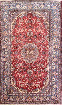 Floral Isfahan Persian Area Rug 8x13