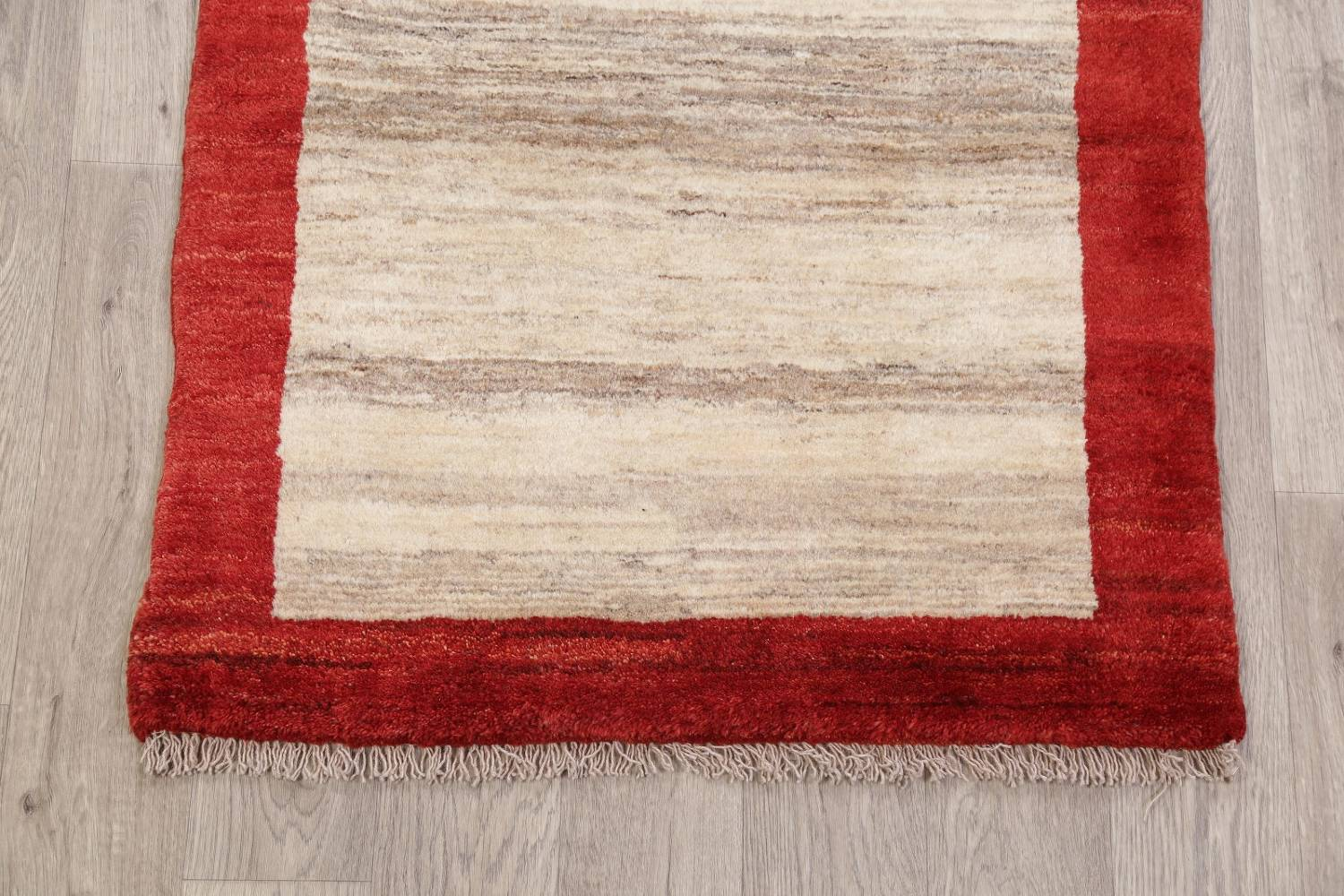 Natural Dye Wool Zollanvari Gabbeh Shiraz Persian Area Rug 3x4
