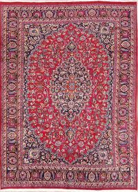 Traditional Floral Mashad Persian Oriental Area Rug 8x11