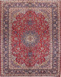 Traditional Floral Najafabad Persian Area Rug 10x13