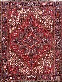 Heriz Persian Area Rug 7x9