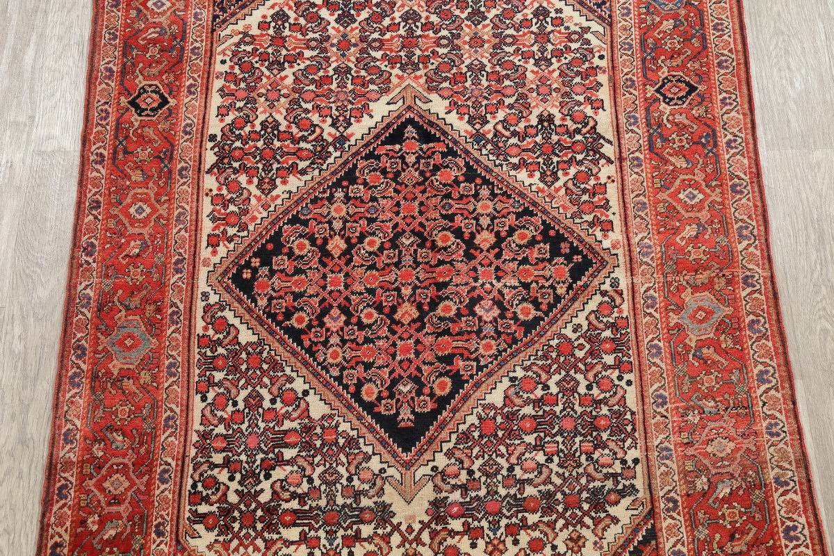 Floral Malayer Mishen Persian Area Rug 4x7 image 3