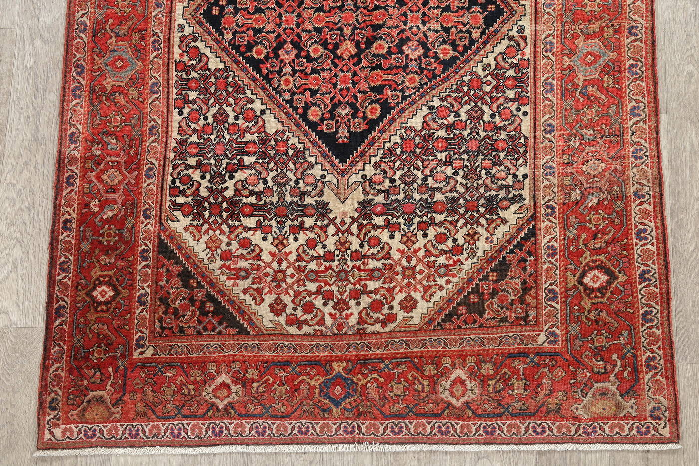 Floral Malayer Mishen Persian Area Rug 4x7 image 5