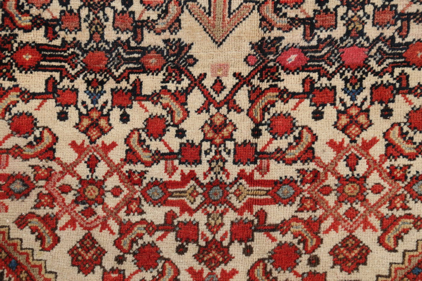 Floral Malayer Mishen Persian Area Rug 4x7 image 8