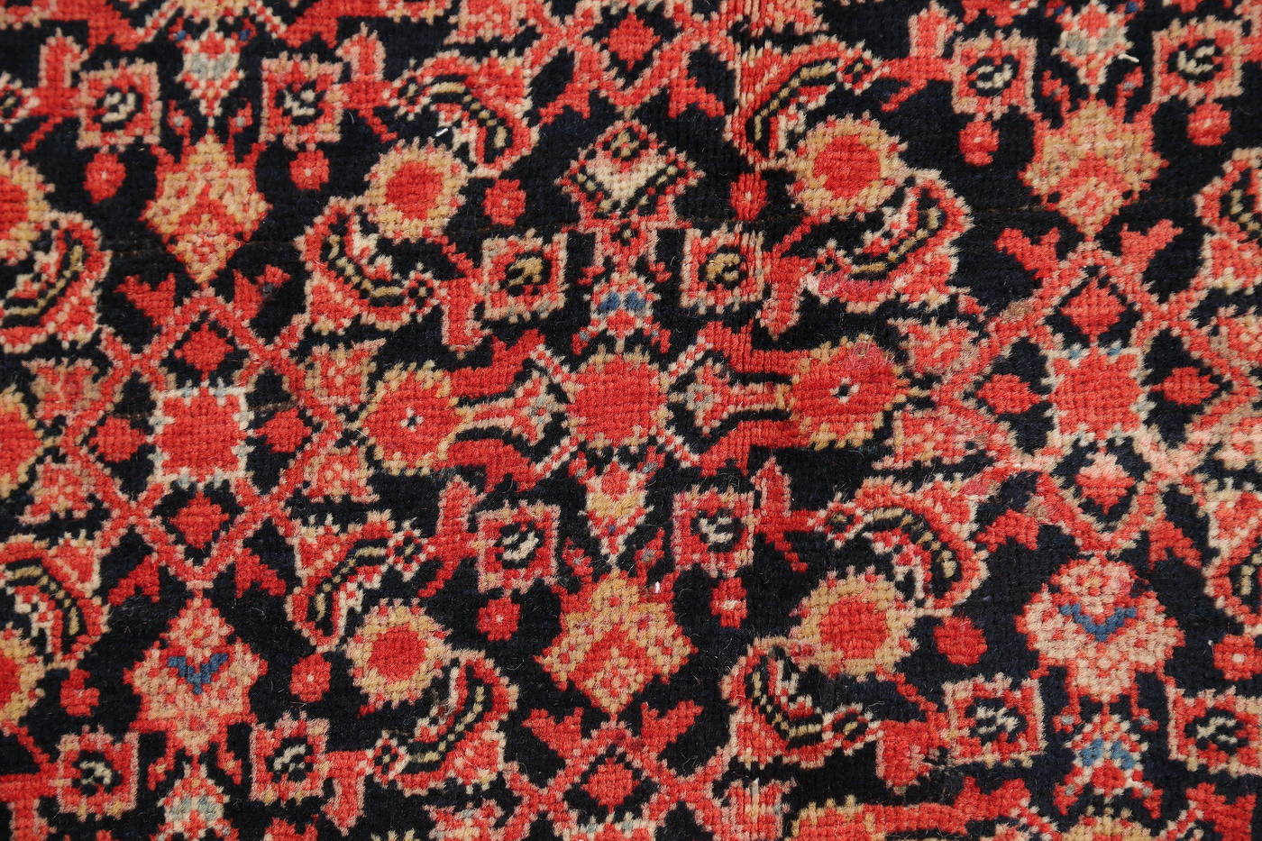 Floral Malayer Mishen Persian Area Rug 4x7 image 9