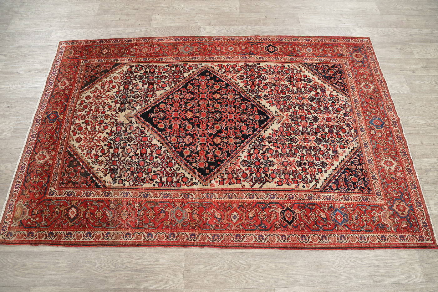 Floral Malayer Mishen Persian Area Rug 4x7 image 17