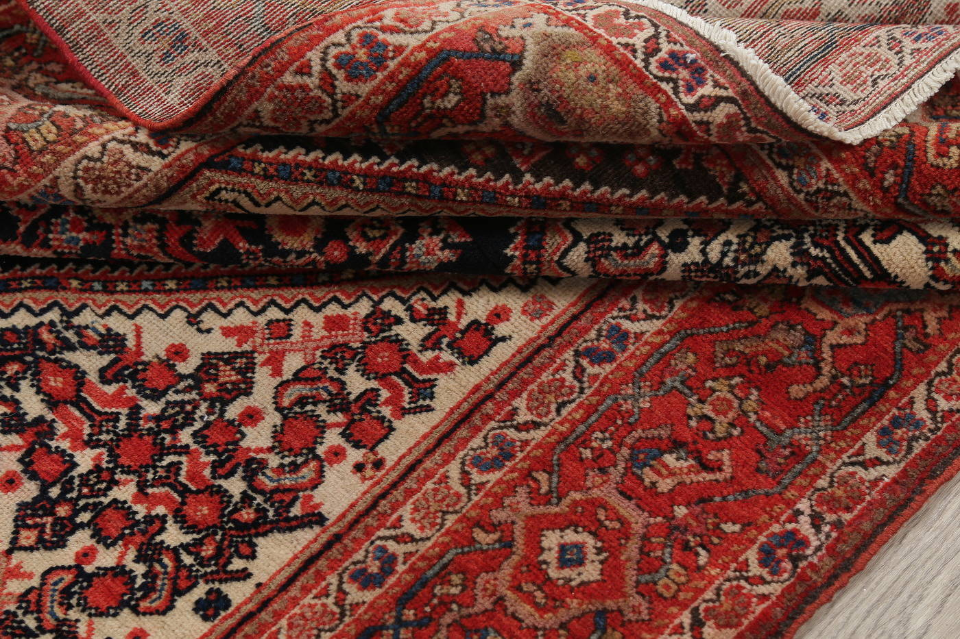 Floral Malayer Mishen Persian Area Rug 4x7 image 20