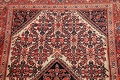 Floral Malayer Mishen Persian Area Rug 4x7 image 15