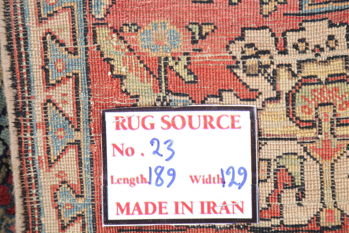 Antique Green Pictorial Kashan Mohtasham Persian Area Rug 4x6 image 24