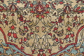 Antique Green Pictorial Kashan Mohtasham Persian Area Rug 4x6 image 8