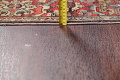 Antique Green Pictorial Kashan Mohtasham Persian Area Rug 4x6 image 22