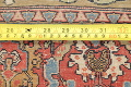 Antique Green Pictorial Kashan Mohtasham Persian Area Rug 4x6 image 25