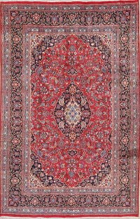 Floral Mashad Persian Area Rug 7x10