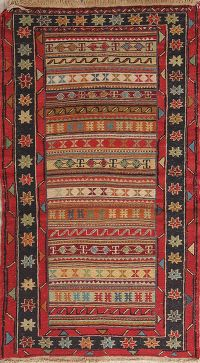 Kilim Shiraz Persian Area Rug 3x5