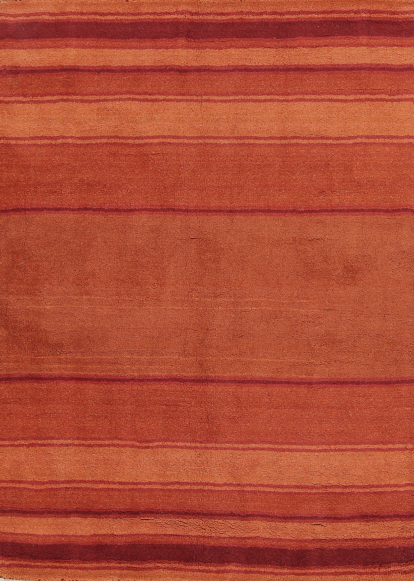 Contemporary Tufted Indian Oriental Area Rug 5x7