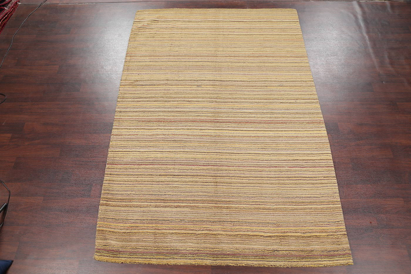 Contemporary Tufted Indian Oriental Area Rug 7x10