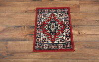 Geometric Kazak Turkish 1'x2' Rug