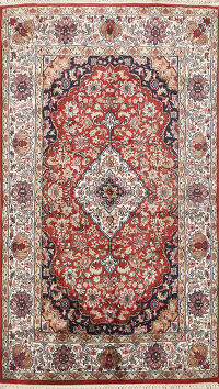 Floral Bokhara Oriental Area Rug 4x6