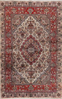 Animal Pictorial Kashmar Persian Area Rug 7x10