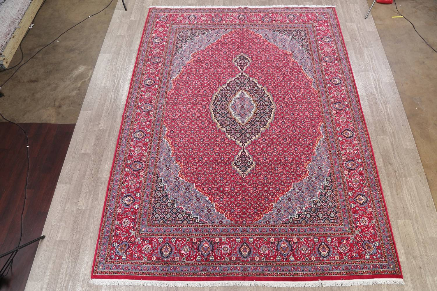 Soft Pile Floral Tabriz Persian Style Area Rug 10x13 image 2