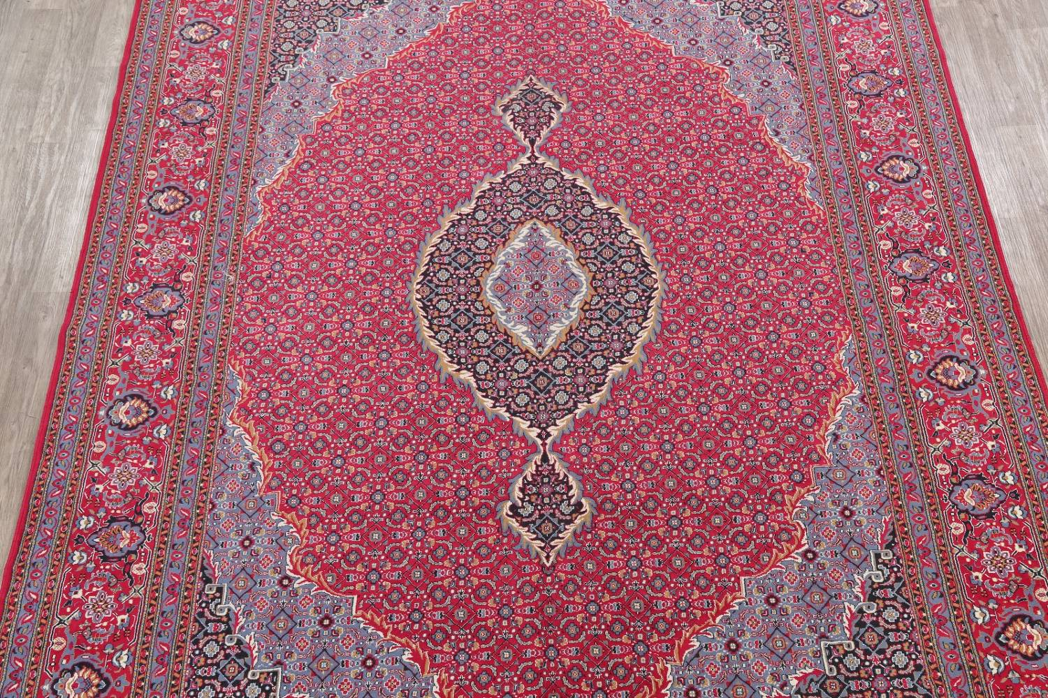 Soft Pile Floral Tabriz Persian Style Area Rug 10x13 image 3