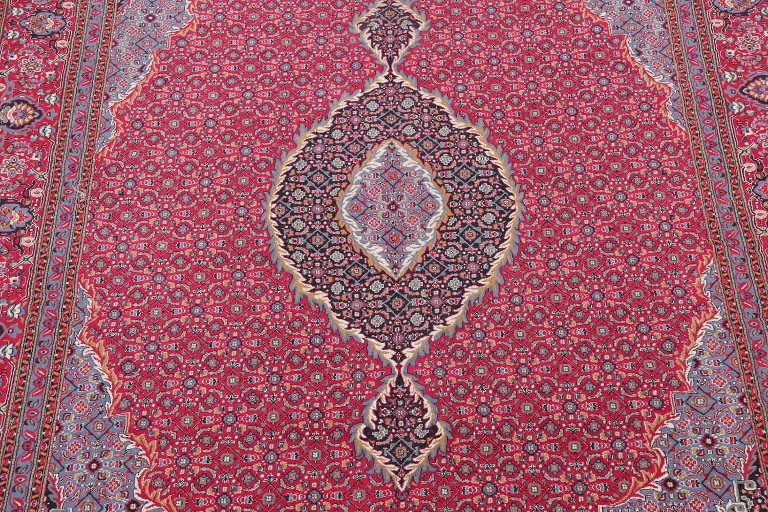 Soft Pile Floral Tabriz Persian Style Area Rug 10x13 image 4