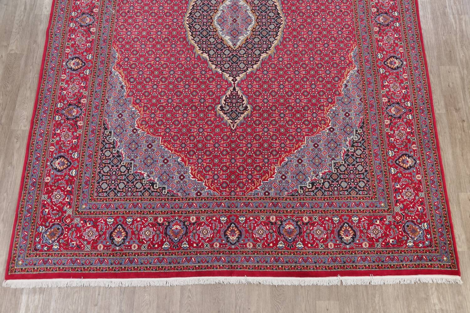 Soft Pile Floral Tabriz Persian Style Area Rug 10x13 image 5