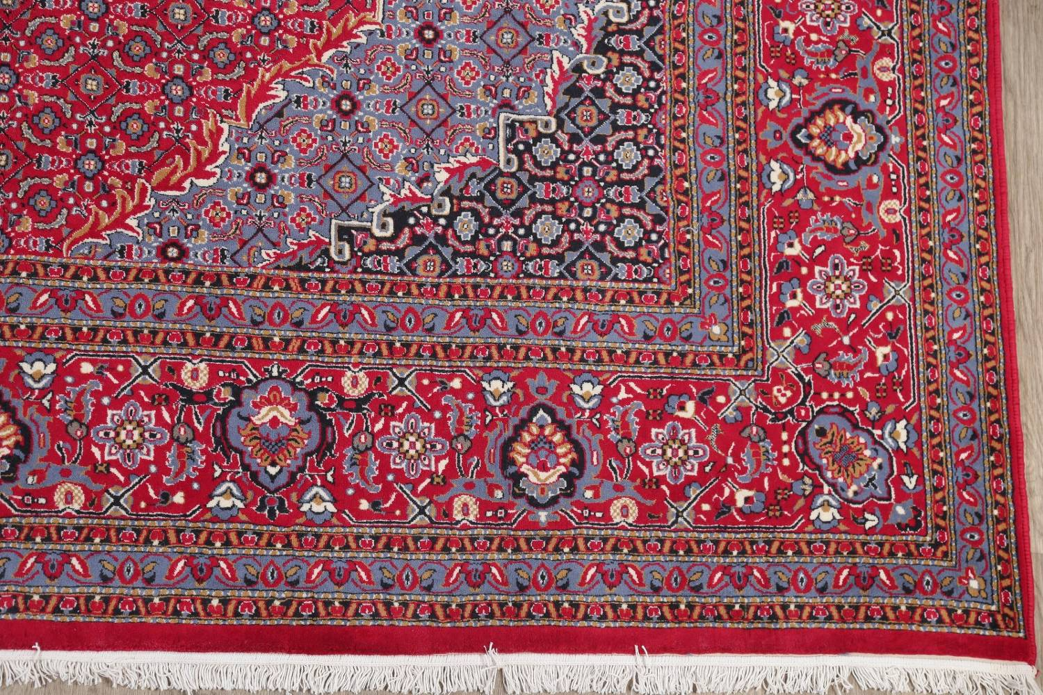 Soft Pile Floral Tabriz Persian Style Area Rug 10x13 image 6
