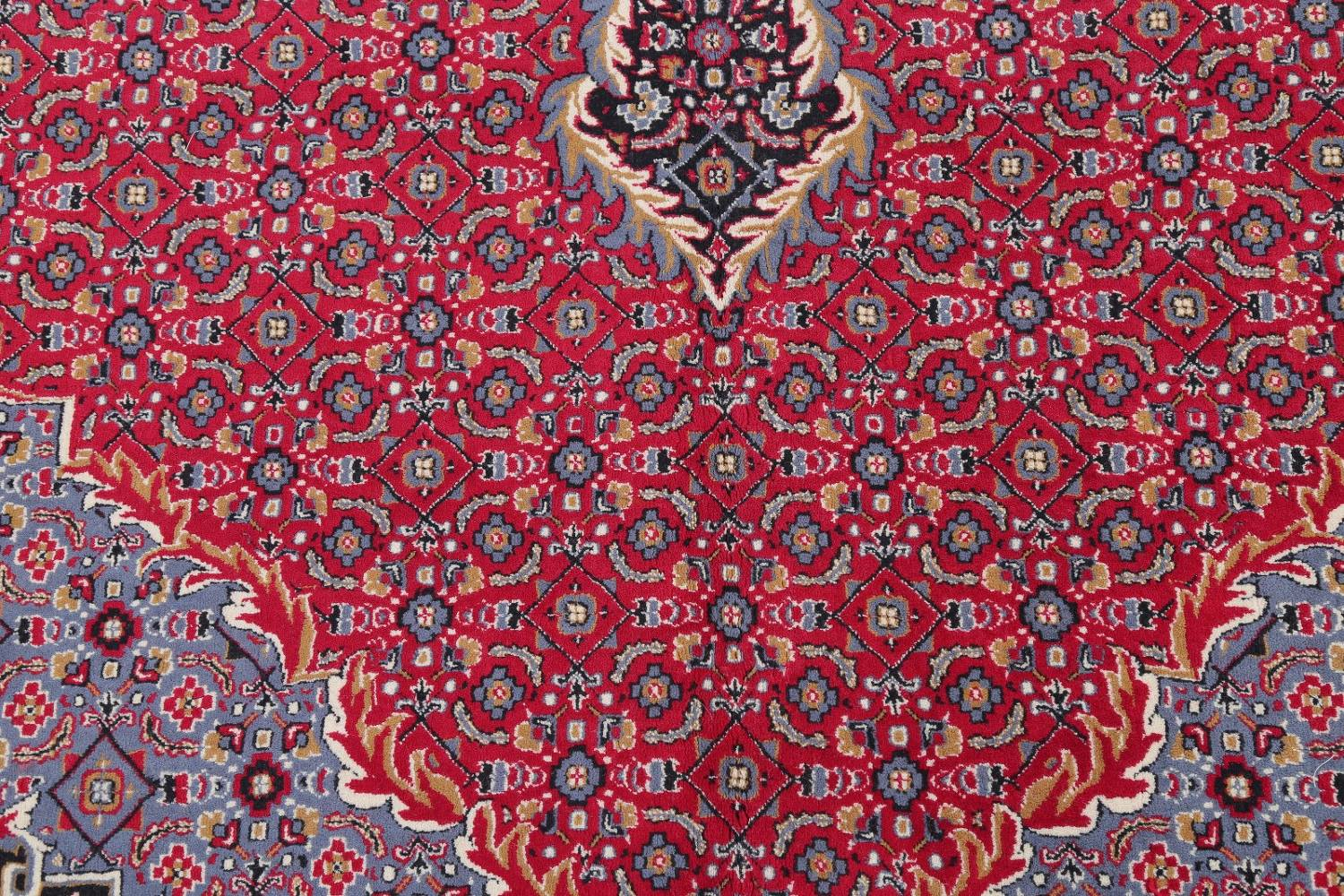 Soft Pile Floral Tabriz Persian Style Area Rug 10x13 image 7