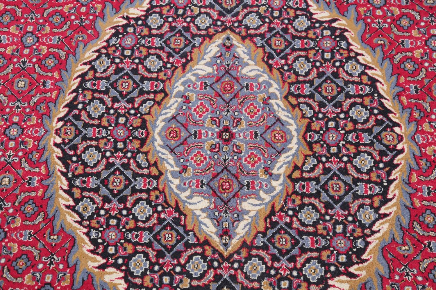 Soft Pile Floral Tabriz Persian Style Area Rug 10x13 image 9