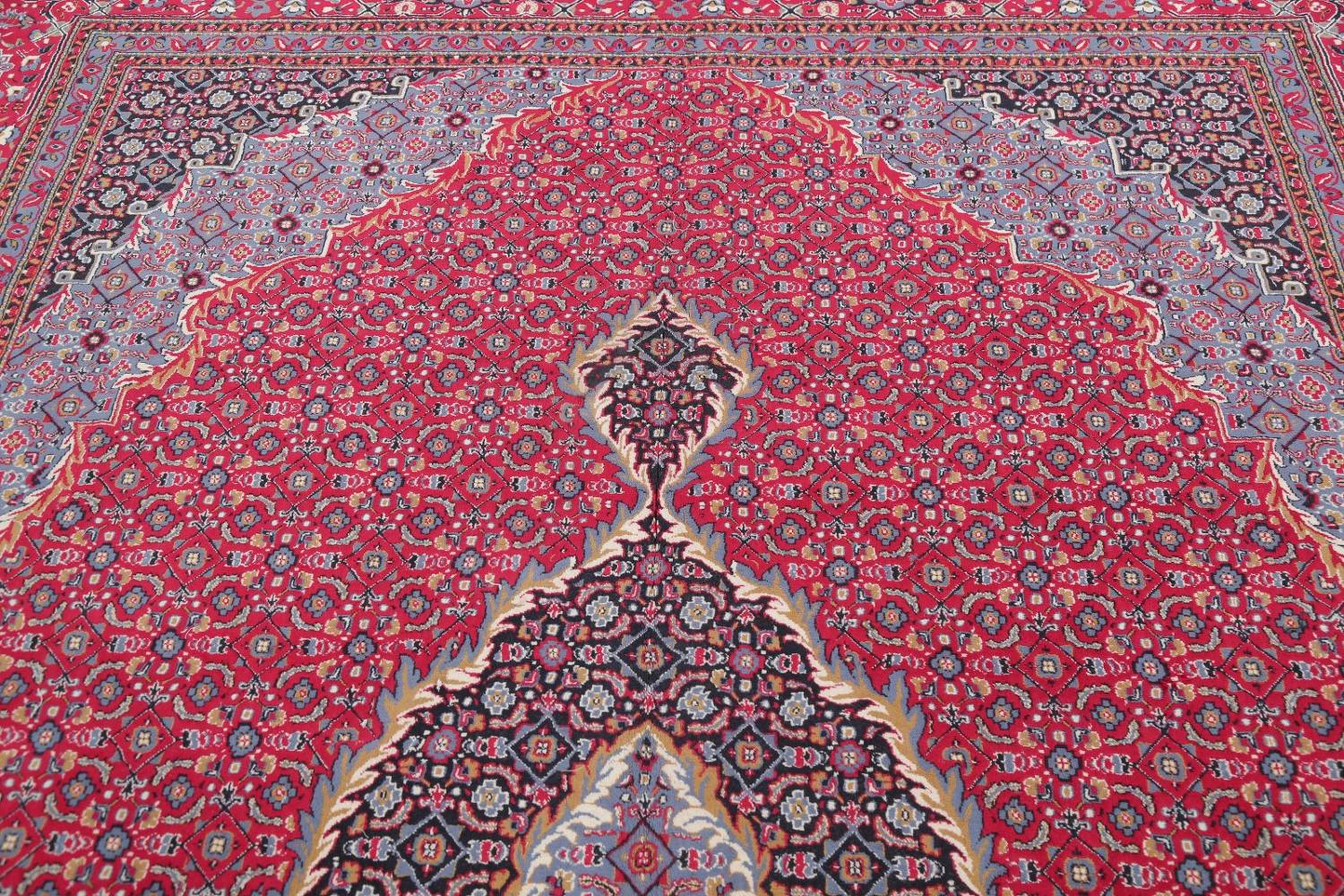 Soft Pile Floral Tabriz Persian Style Area Rug 10x13 image 10
