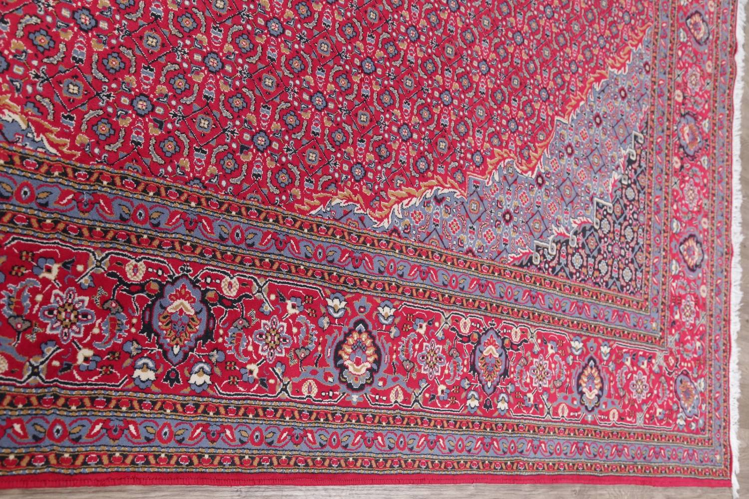 Soft Pile Floral Tabriz Persian Style Area Rug 10x13 image 11