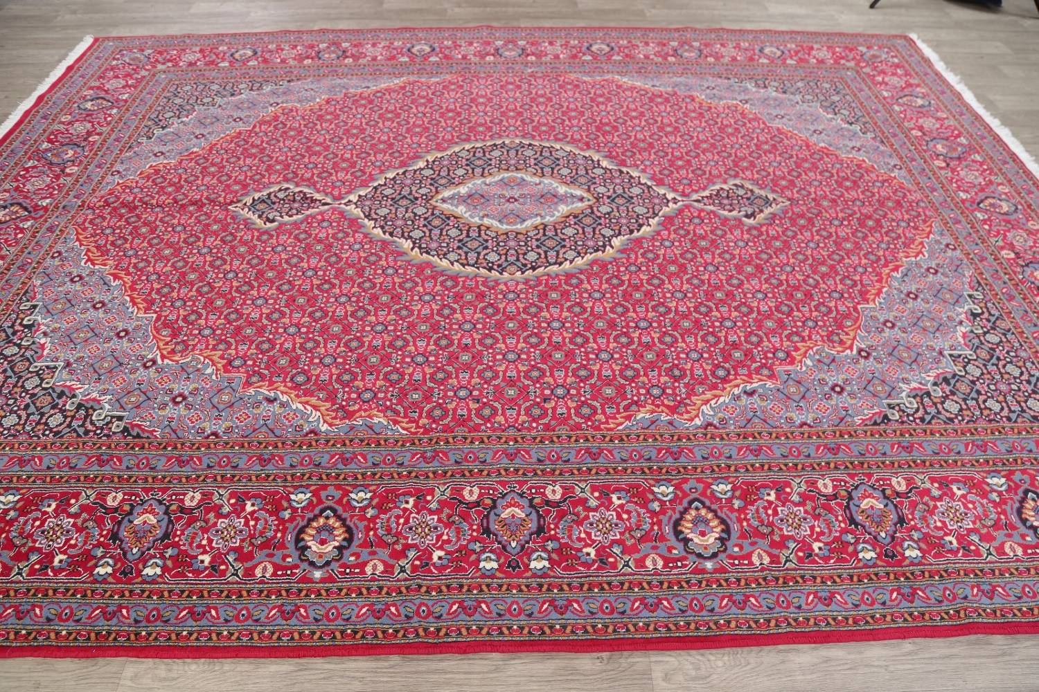 Soft Pile Floral Tabriz Persian Style Area Rug 10x13 image 12