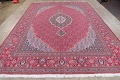 Soft Pile Floral Tabriz Persian Style Area Rug 10x13 image 15