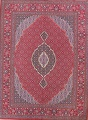 Soft Pile Floral Tabriz Persian Style Area Rug 10x13 image 1