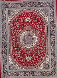 Soft Pile Floral Mashad Persian Style Area Rug 10x13