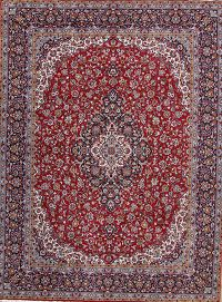 Soft Pile Floral Kashan Persian Style Area Rug 10x13