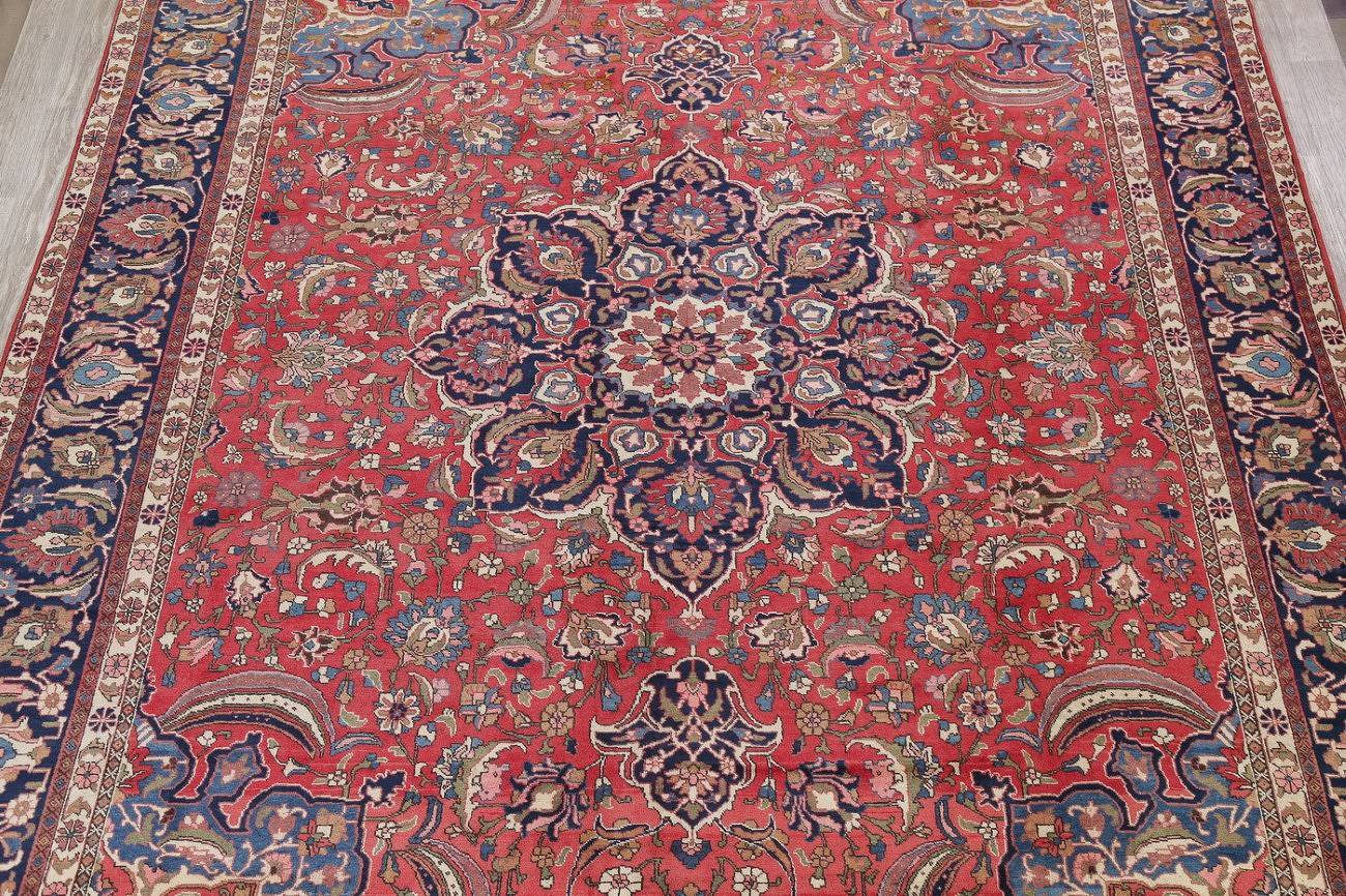 Antique Vegetable Dye Bakhtiari Persian Area Rug 12x14 image 3